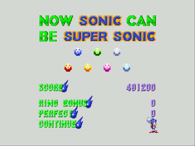 Sonic and Knuckles & Sonic 3 - yay super sonic - User Screenshot